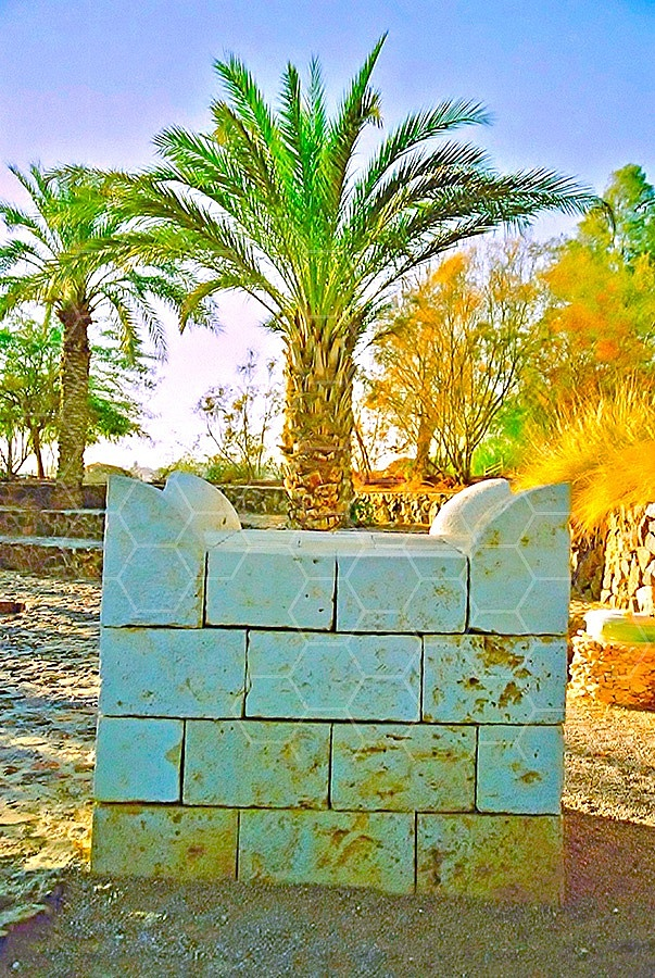 Tel Be'er Sheva Altar 004