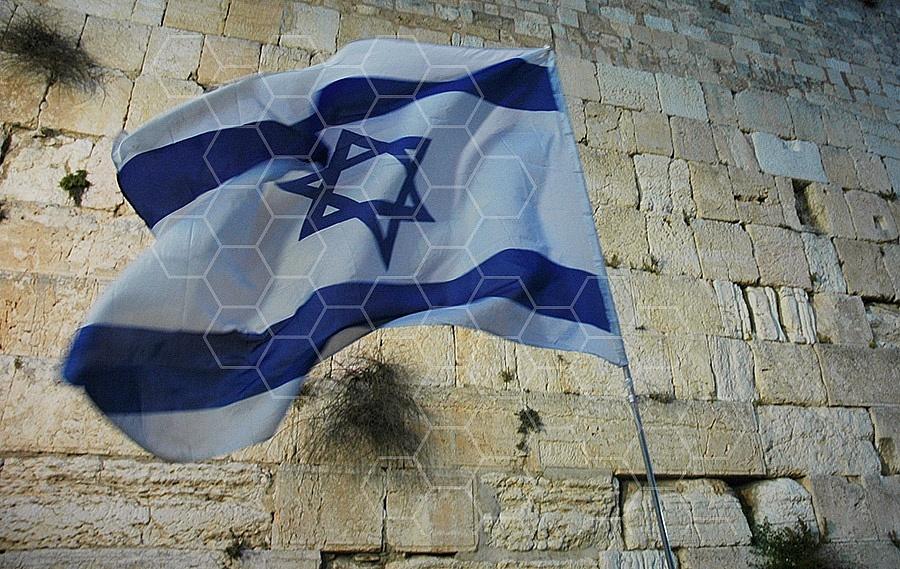 Israel Flag 005