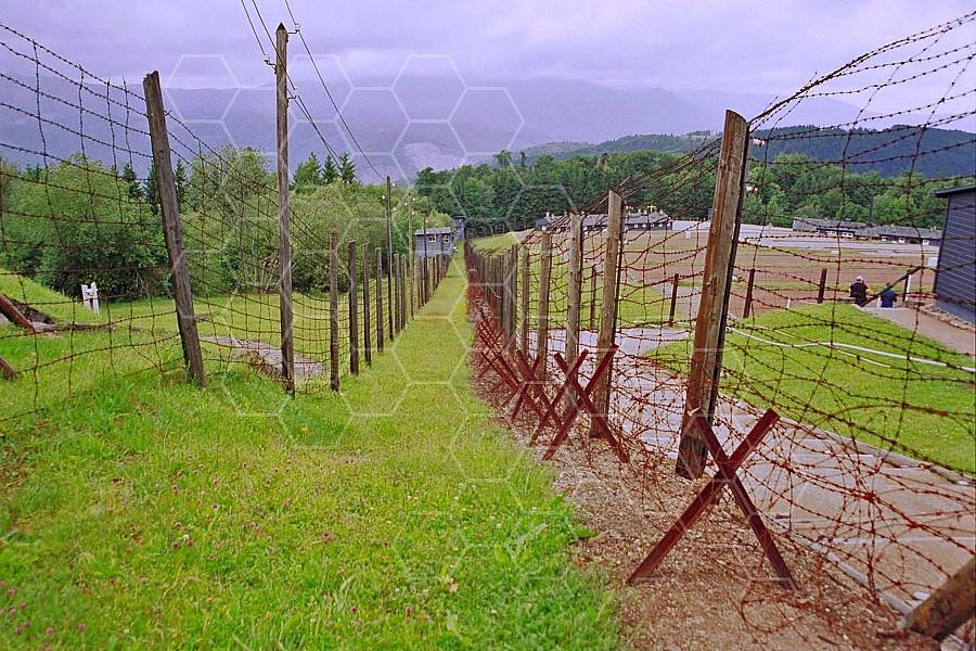 Natzweiler-Struthof Barbed Wire Fences 0002
