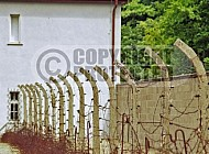 Sachsenhausen Barbed Wired Fence 0002