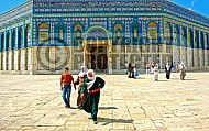 Jerusalem Old City Dome Of The Rock 015