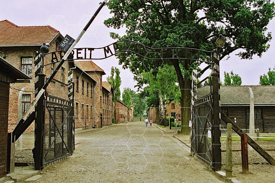 Auschwitz Camp Gates 0008