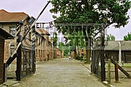 Auschwitz Camp Gates 0008