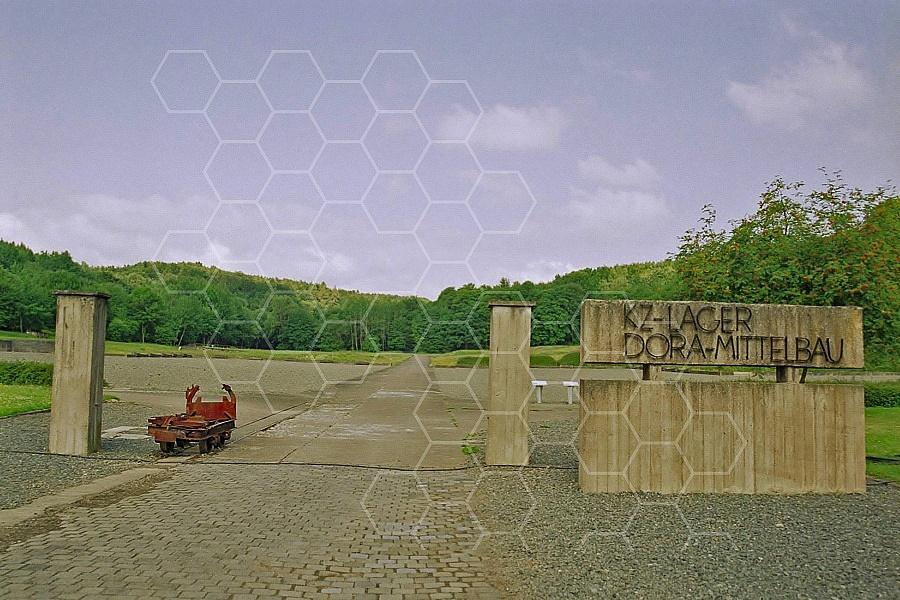 Nordhausen (Dora-Mittelbau) Entrance Gate 0004