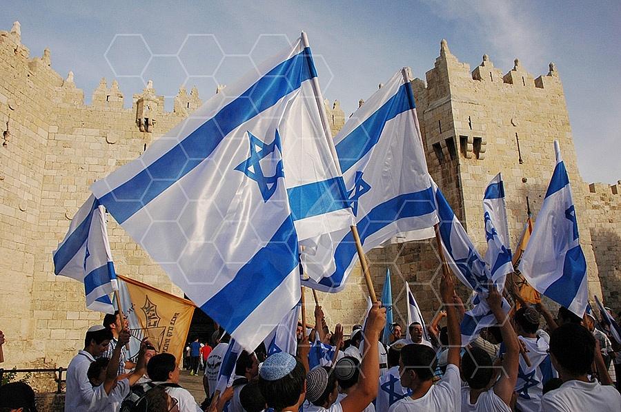 Israel Flag 046