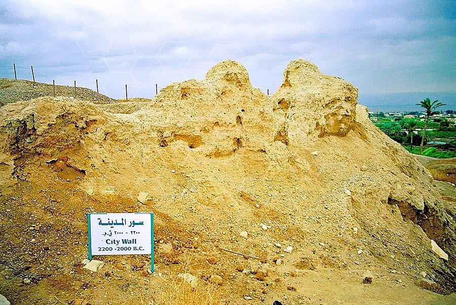 Tel Jericho City Wall 001