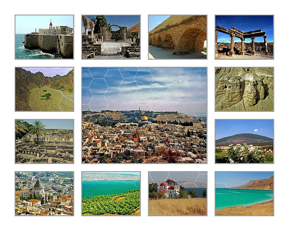 Israel Photo Collages 040