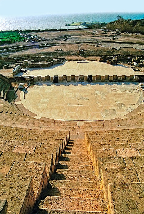 Caesarea The Roman Theatre 004