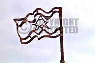 Israel Flag 060