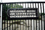 Sachsenhausen Close Up of Entrance Gate 0003