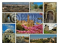 Jerusalem Photo Collages 031