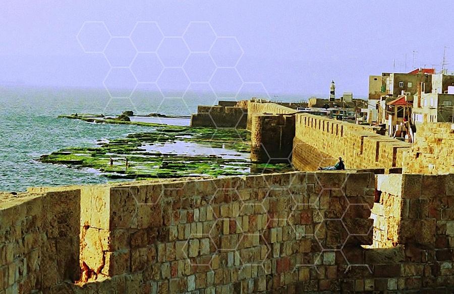 Akko Sea Wall 0003