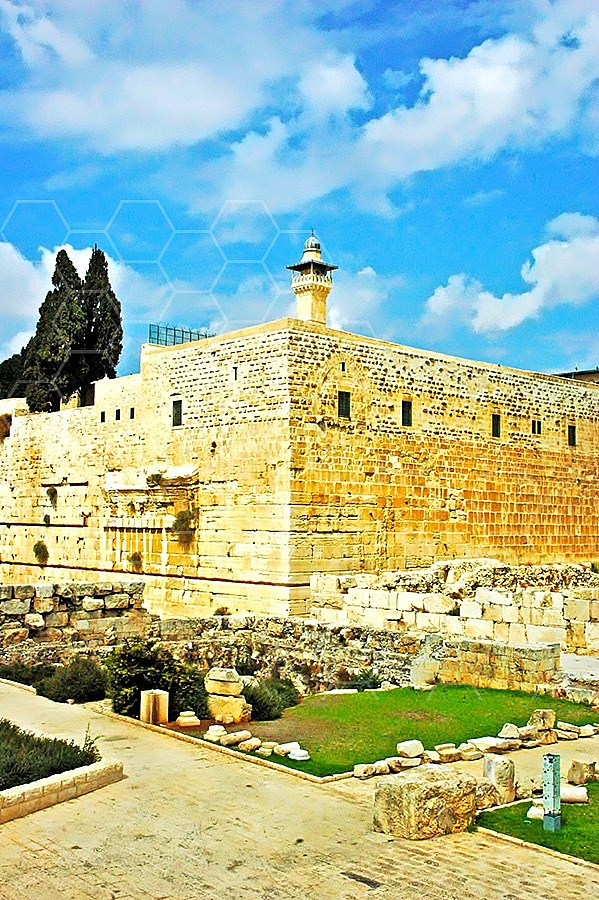 Jerusalem Old City Southern And Western Wall Excavation 010