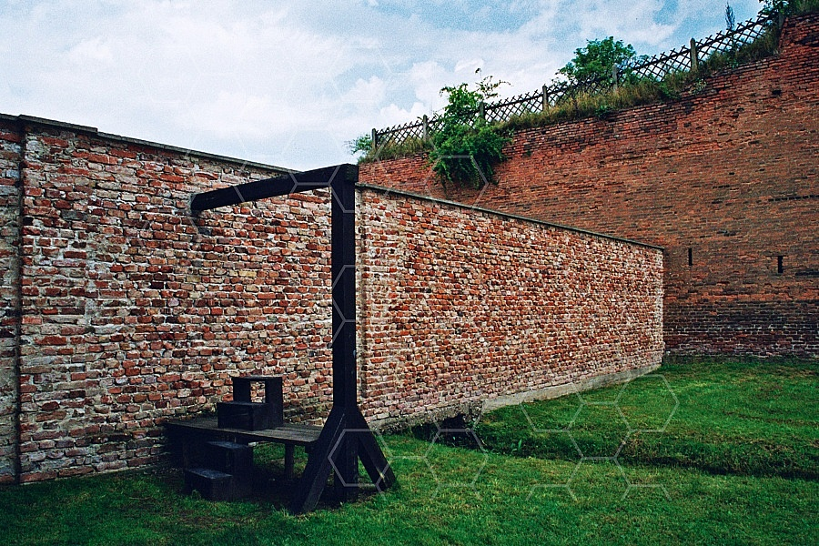 Terezin Gallows for Executions 0001