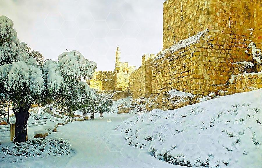 Jerusalem Snow 002