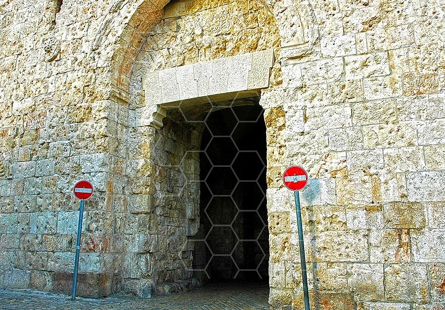 Jerusalem Old City Zion Gate 005