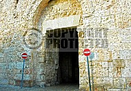 Jerusalem Old City Zion Gate 005
