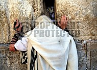 Kotel Man Praying 096
