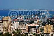 Haifa City View and Sea Port 0005