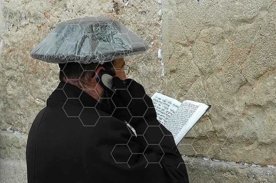 Kotel Man Praying 149