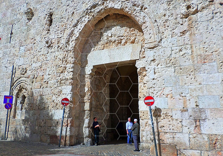 Jerusalem Old City Zion Gate 004