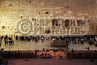 Kotel View At Night 009