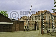 Auschwitz Camp Gates 0019