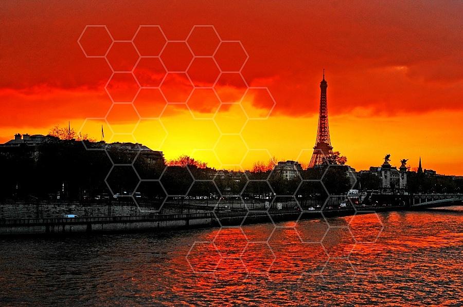 Paris French Sunset 001