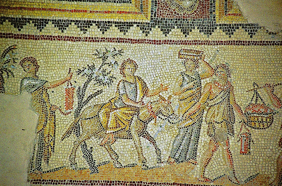 Zippori Dionysus Party 002