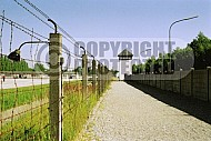 Dachau Fence and Wachtower 0005