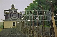 Buchenwald Barbed Wire Fence and Watchtower 0007