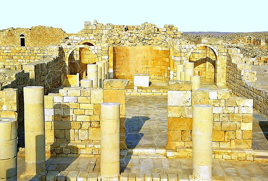 Avdat The Nabatean Temple 008
