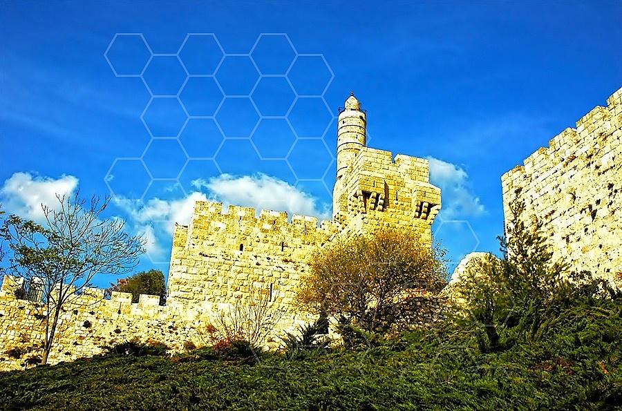 Jerusalem Old City David Tower 001
