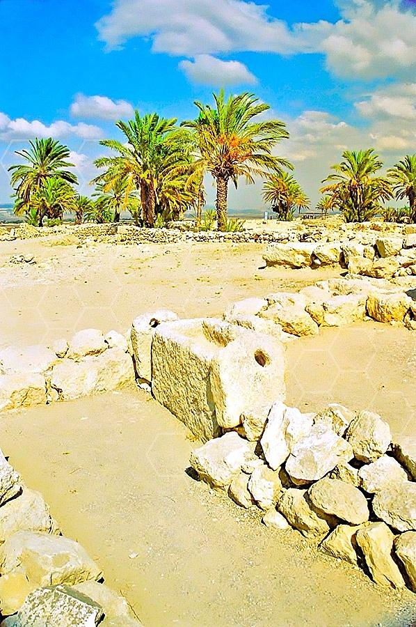 Tel Megiddo Stables 005