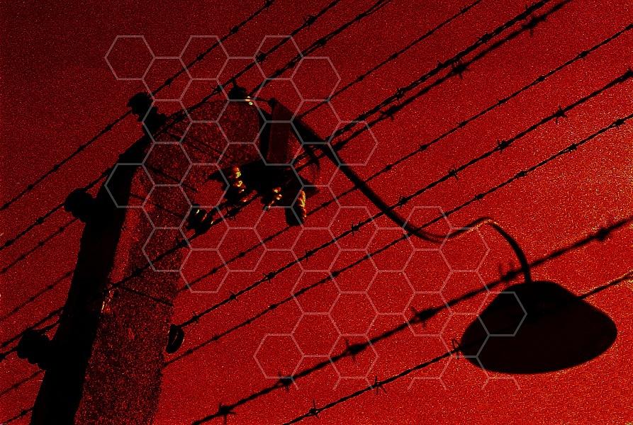 Birkenau Electrified Barbed Wire Fence 0006