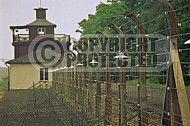 Buchenwald Barbed Wire Fence and Watchtower 0011