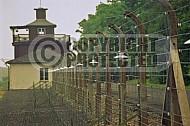 Buchenwald Barbed Wire Fence and Watchtower 0011