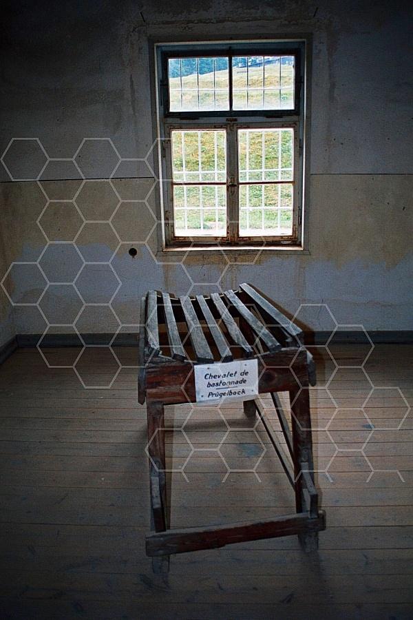 Natzweiler-Struthof Torture Bench 0002