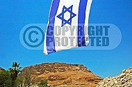 Israel Flag 024