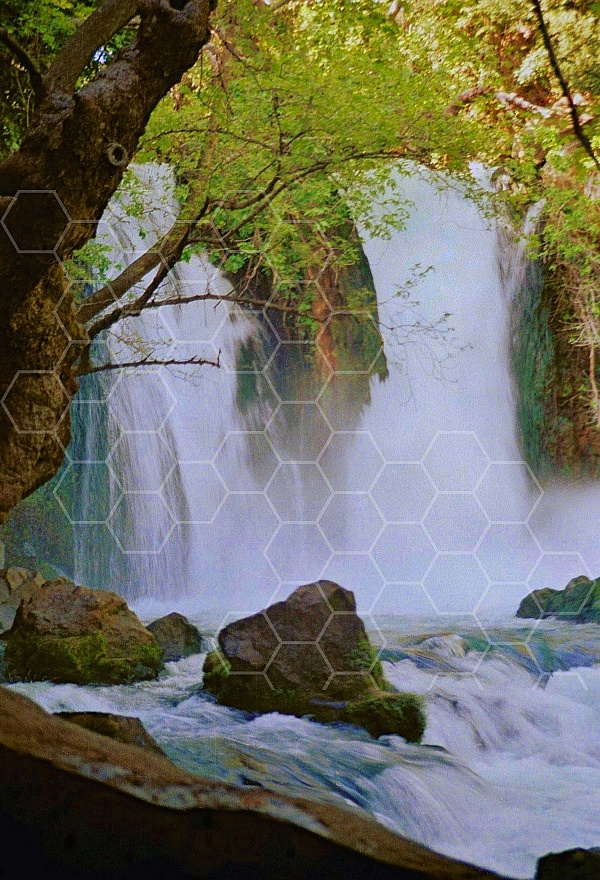 banias waterfall 0015