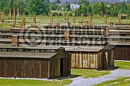 Birkenau Camp Barracks 0032