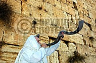Kotel Blowing The Shofarf 007