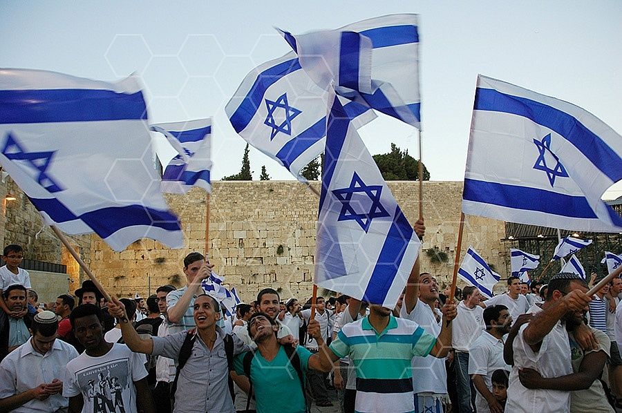 Israel Flag 033