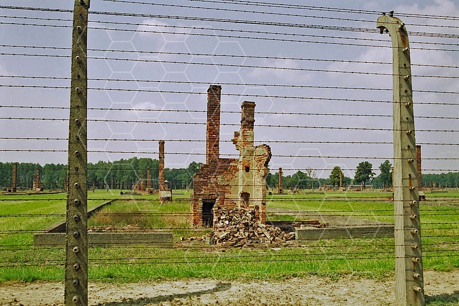 Birkenau Camp Barracks 0023