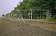 Buchenwald Barbed Wire Fence and Watchtower 0005