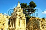 Jerusalem Absalom Tomb 003