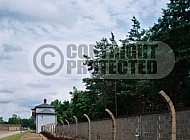 Sachsenhausen Barbed Wired Fence 0005