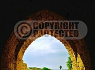 Caesarea Fortress Entrance 003