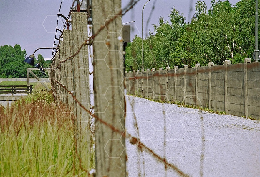 Dachau Barbed Wire Fence 0017