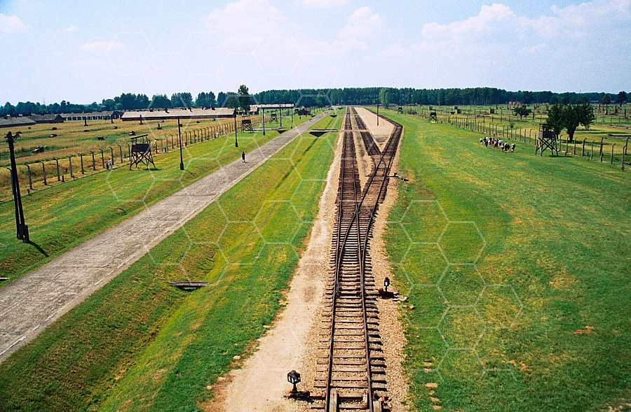 Birkenau Unloading Area at Main Gate 0018